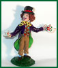 The Mad Hatter polymer clay miniature figure