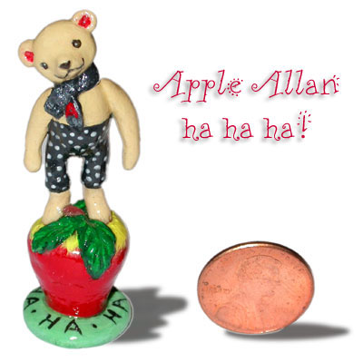 Apple Allan mini bear